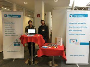 infomax auf der Praxisbörse der Universität Bremen