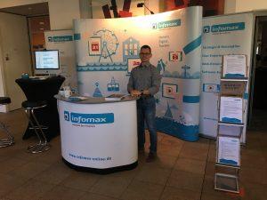 infomax auf der IKORO Industrie- und Kontaktmesse der Hochschule Rosenheim