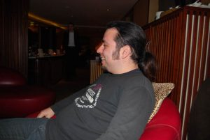 Benni als Azubi bei infomax (2008)