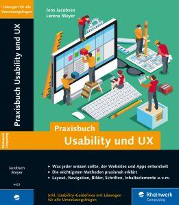 Praxisbuch Usability und UX, Verlag Rheinwerk Computing