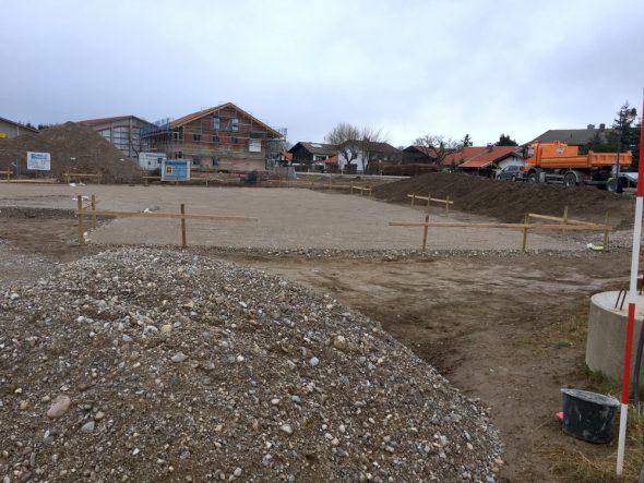 infomax Baustelle, Ansicht Süd-West am 11.3.2019