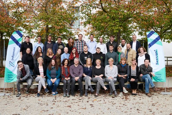 Team der infomax websolutions GmbH. Copyright: Gina Bolle